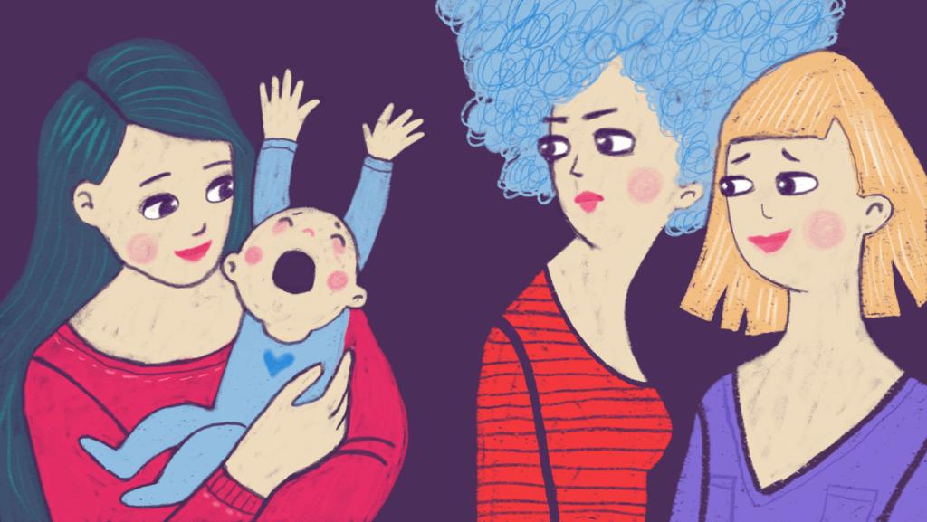 Anyává válni nem érdem. Elég jó anyává válni, az igen.