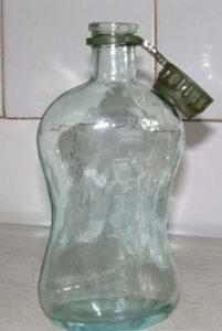 borvizes palack