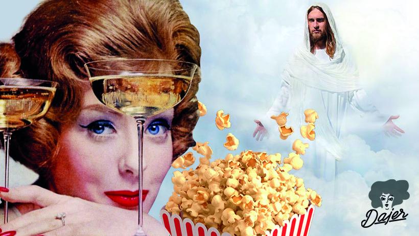 Popcorn, pezsgő, Hozsanna