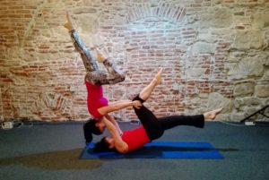 counterbalance on shoulder