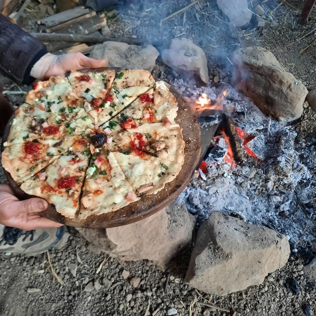 Kétszázhúsz felett – pizzamese